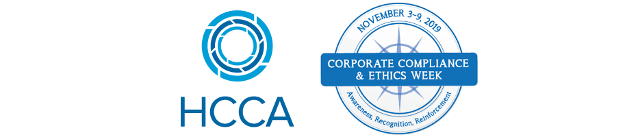 HCCA Logo and Corporate Compliance and Ethics Week Logo